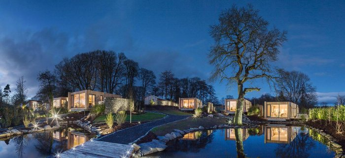 Gilpin Hotel launches new Spa Lodge 100s