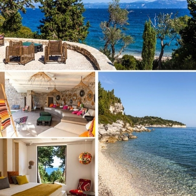Exclusive villas in Paxos